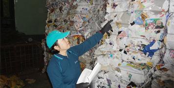 リサイクルで美しい環境を守ります