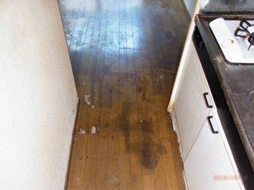 特殊清掃 事例 キッチン