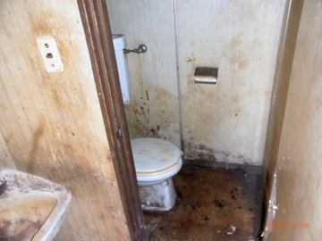 特殊清掃 事例 トイレ