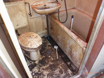 特殊清掃 事例 浴室