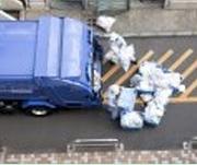 廃棄物の処理作業